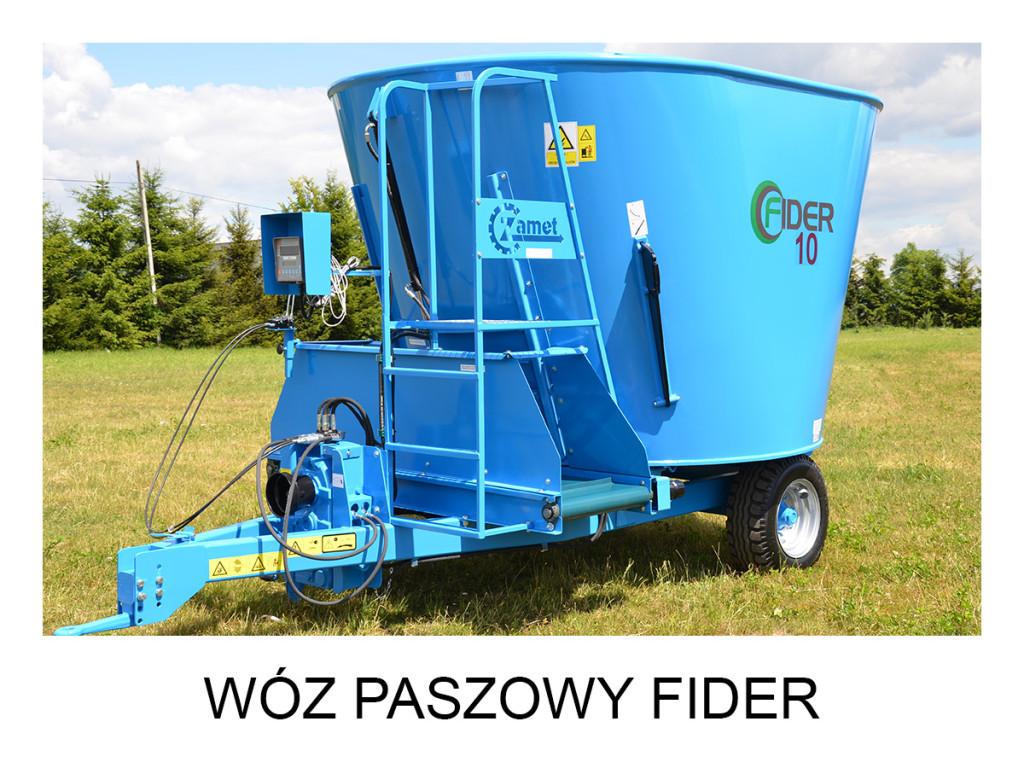 Fider, zamet, wóz paszowy, paszowóz, zamet budowa maszyn, wóz paszowy sano, euromilk, wozy paszowe